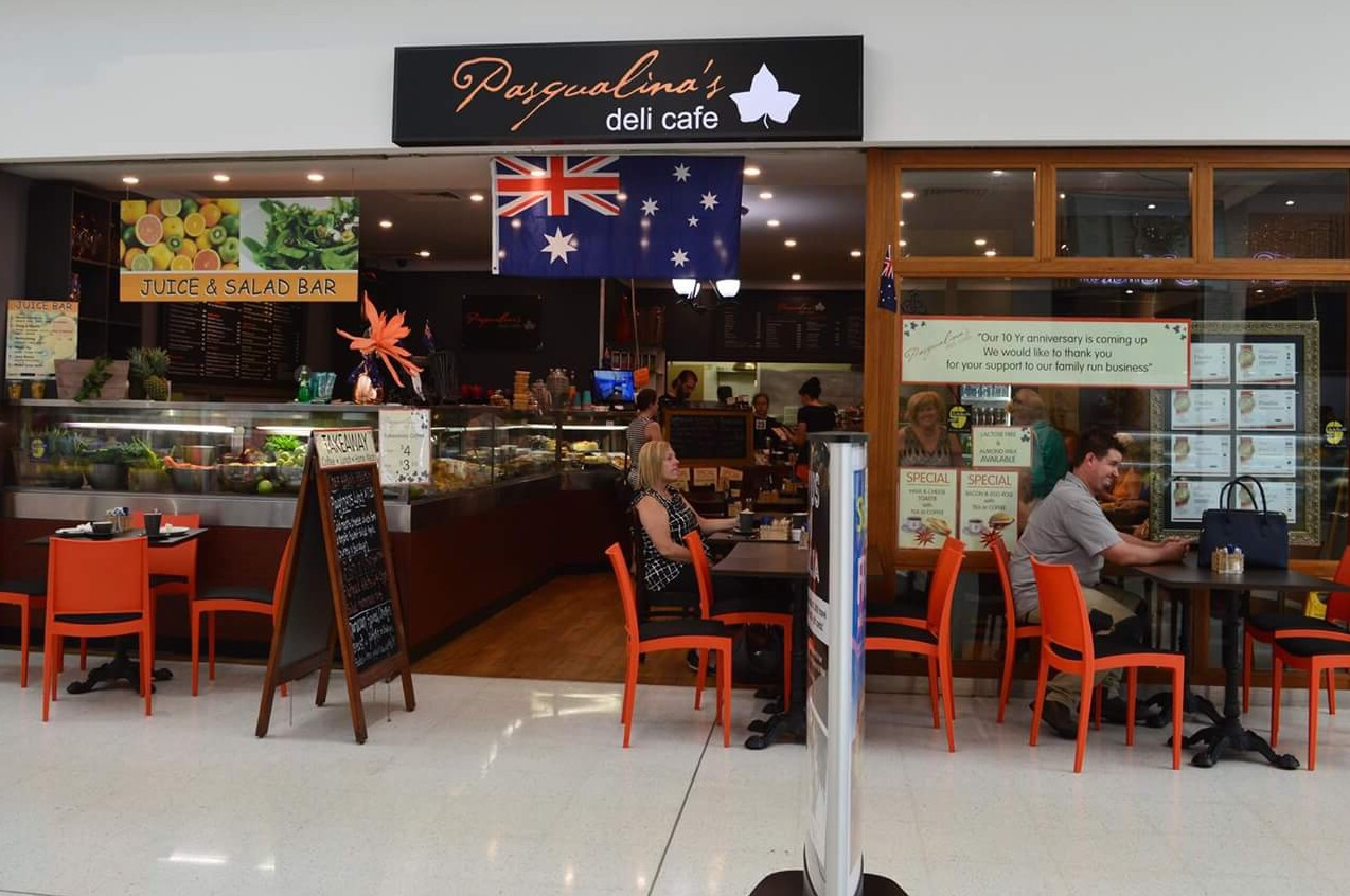 Pasqualina's Cafe located in Kellyville